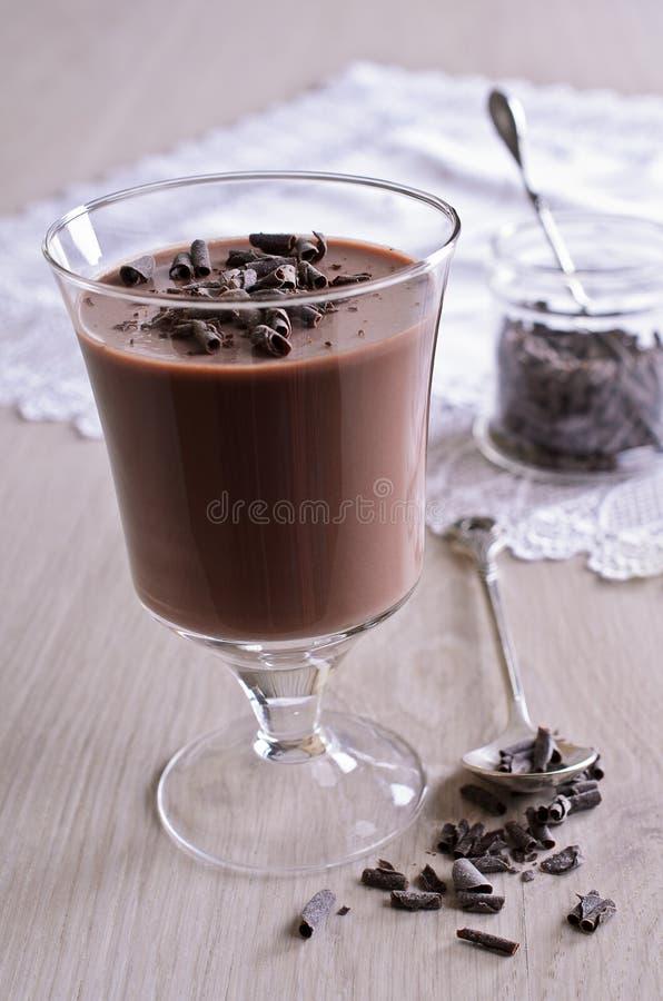 Chocoladegelei royalty-vrije stock afbeeldingen