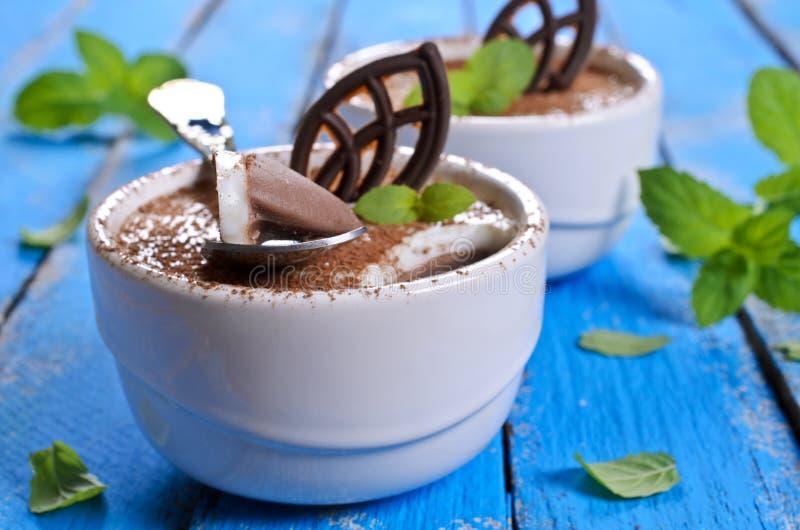 Chocoladegelei royalty-vrije stock foto