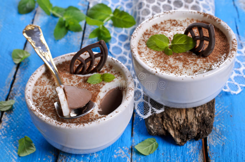 Chocoladegelei royalty-vrije stock fotografie