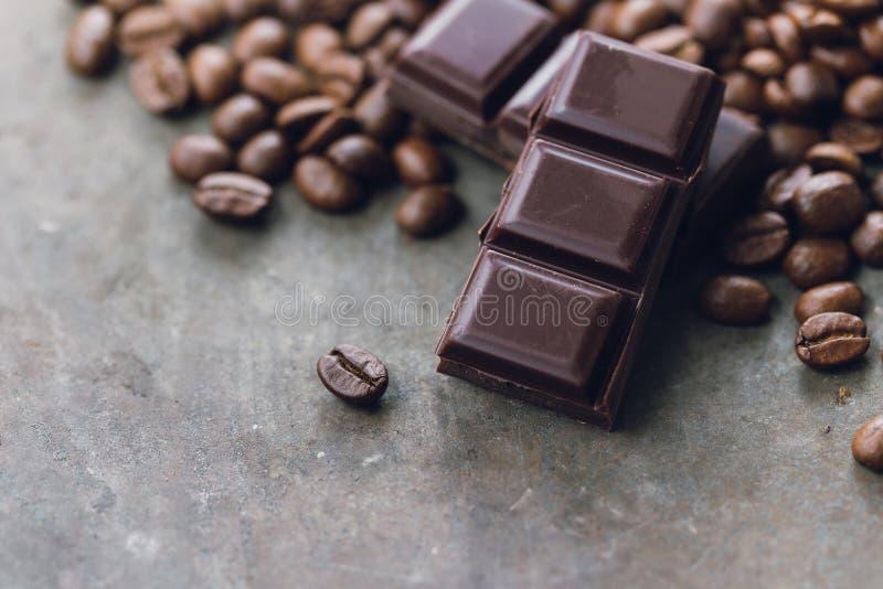 Chocoladekoffie royalty-vrije stock afbeeldingen