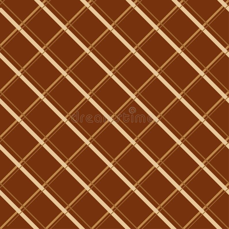 Chocoladereep naadloos patroon vector illustratie