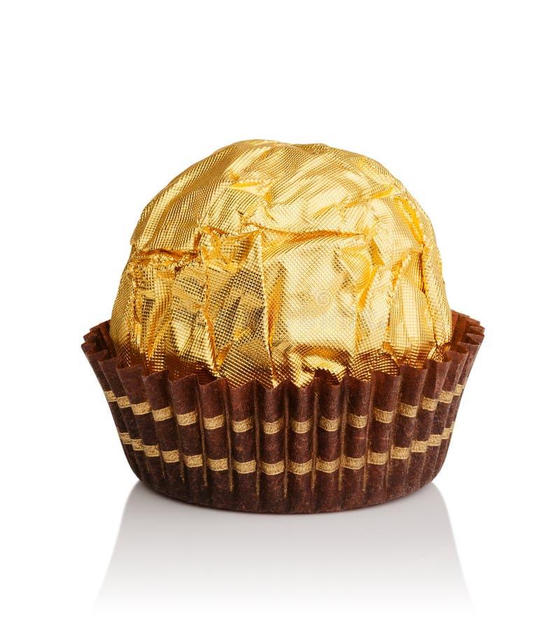 Chocoladesuikergoed stock afbeelding