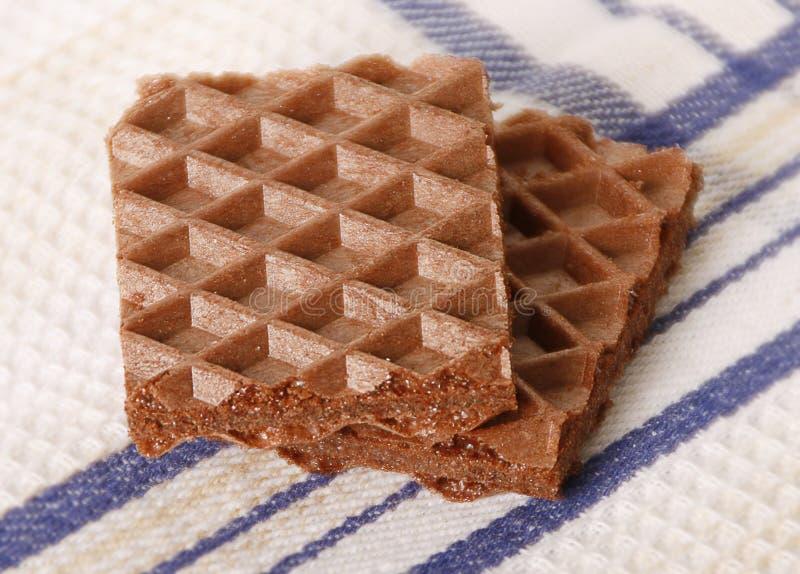 Download Chocoladewafel stock afbeelding. Afbeelding bestaande uit linnen - 39108257