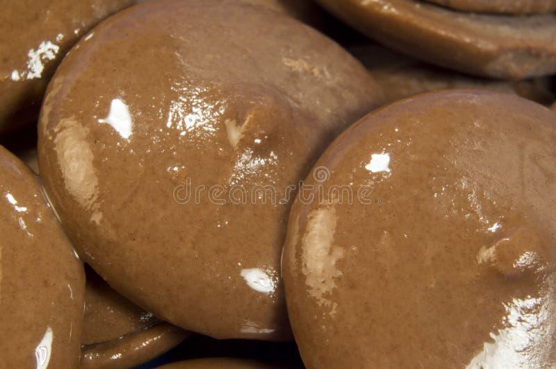 Chocoladewafeltjes royalty-vrije stock foto's