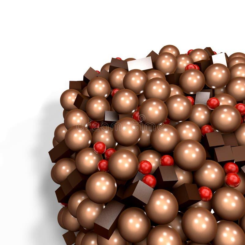 Chocolat illustration de vecteur