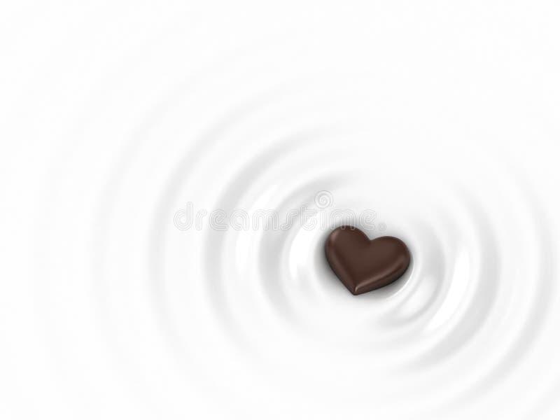 Chocolat chaud illustration libre de droits