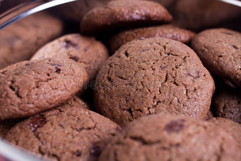 Chocolat Chip Cookies images libres de droits