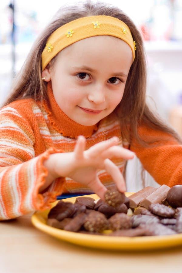 Chocolat délicieux photo stock