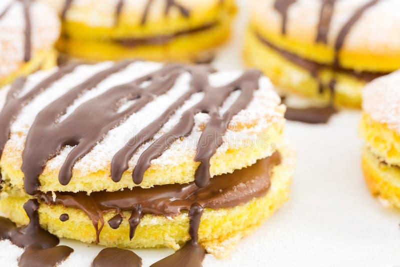 Chocolat de casse-croûte images libres de droits
