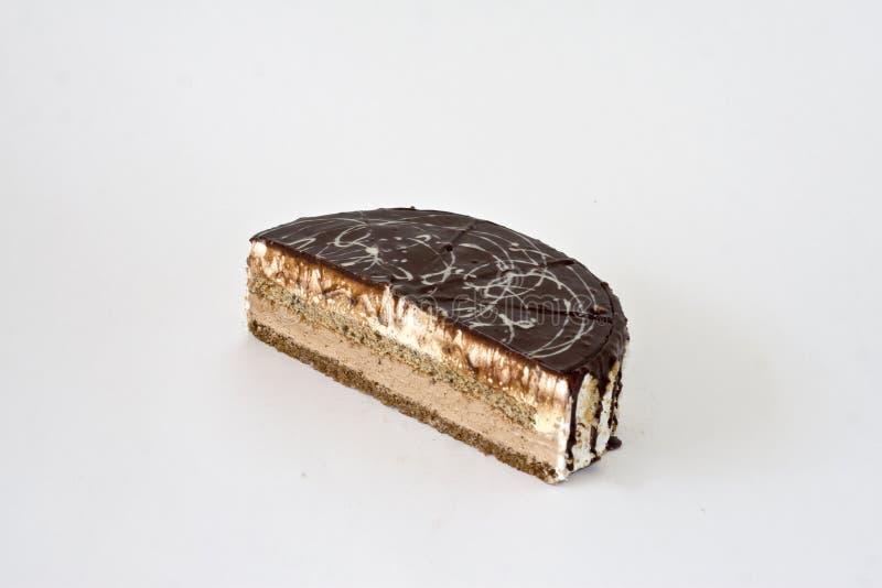 chocolat de gâteau image stock