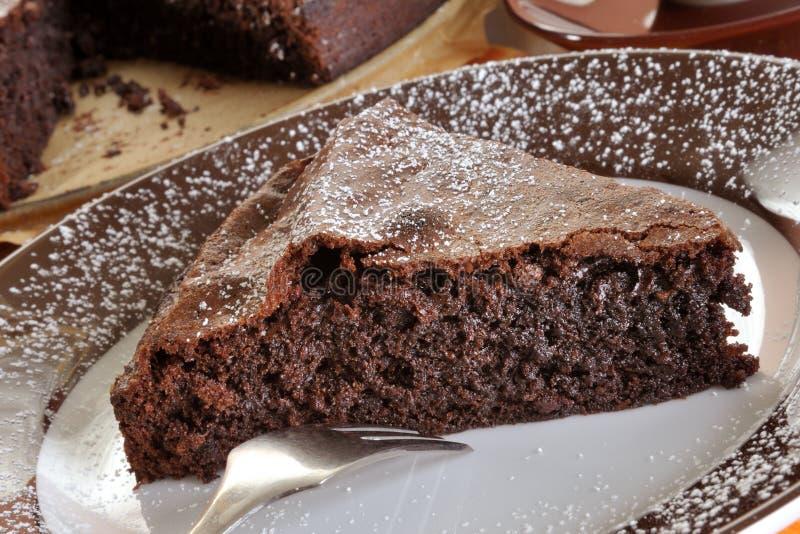 chocolat de gâteau luxueux photo libre de droits