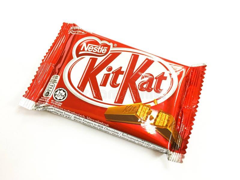 Chocolat de KitKat photo stock