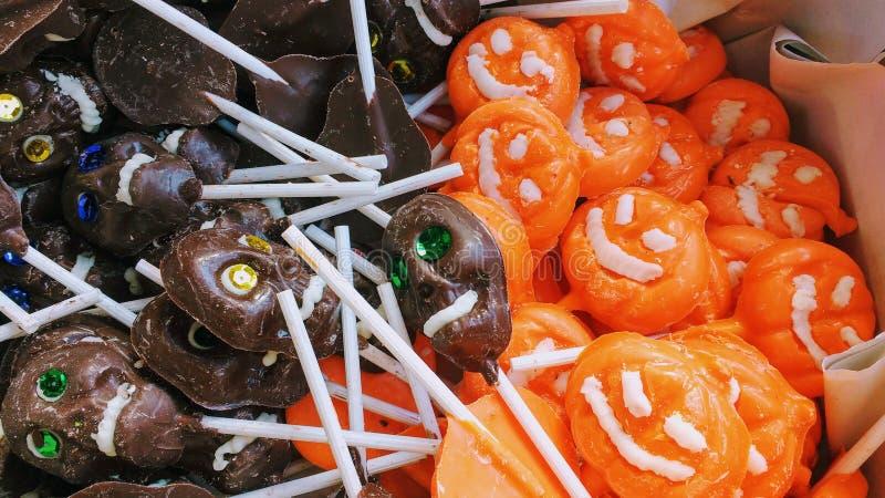 Chocolat de la mort image stock