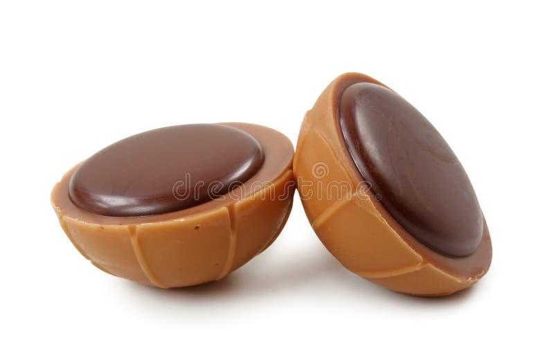 chocolat de sucreries images stock
