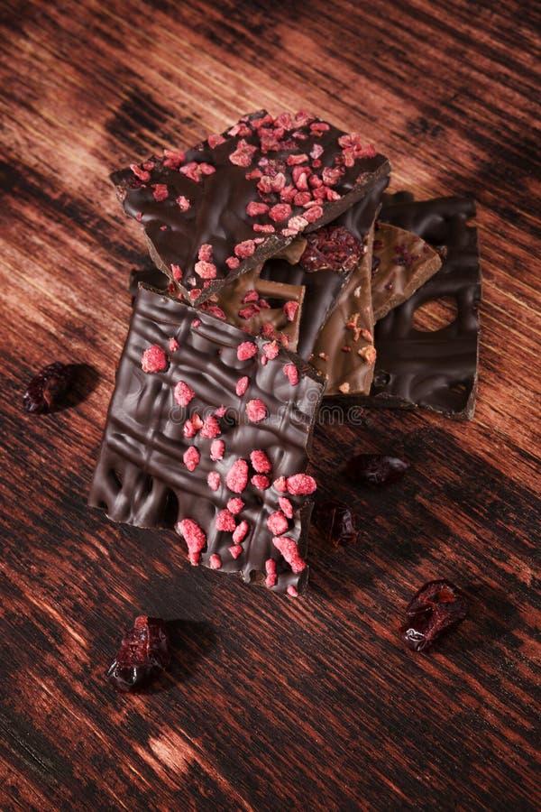 Chocolat foncé gastronome photographie stock libre de droits
