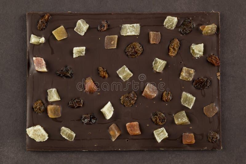 Chocolat fonc? image stock