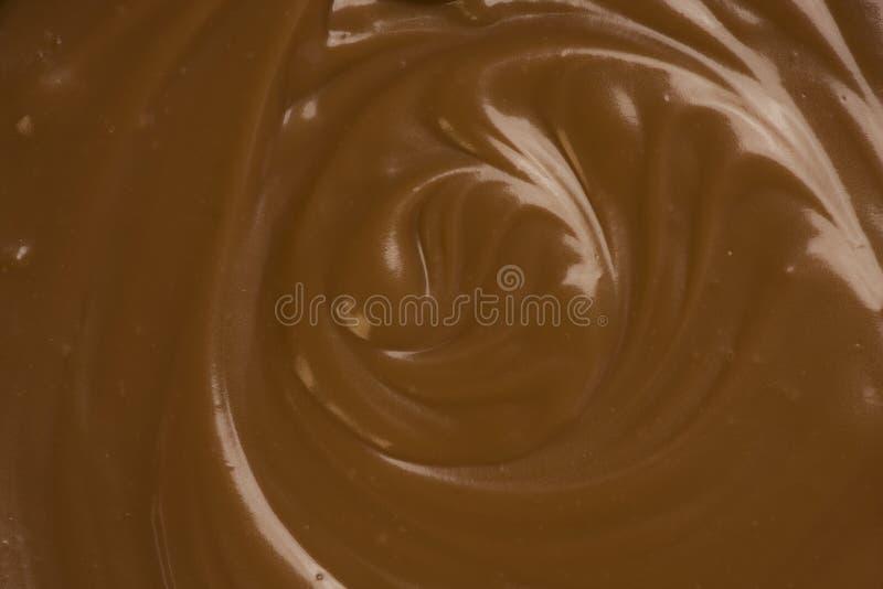 Chocolat fondu photographie stock