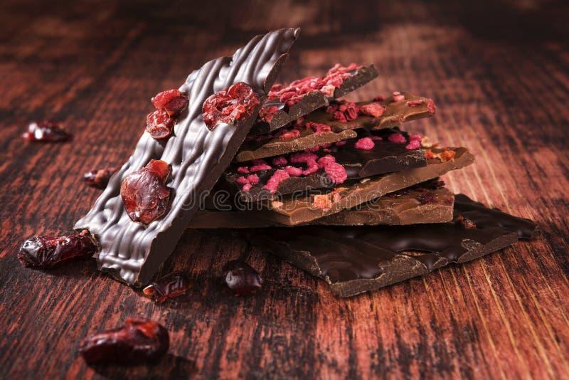 Chocolat gastronome foncé image libre de droits