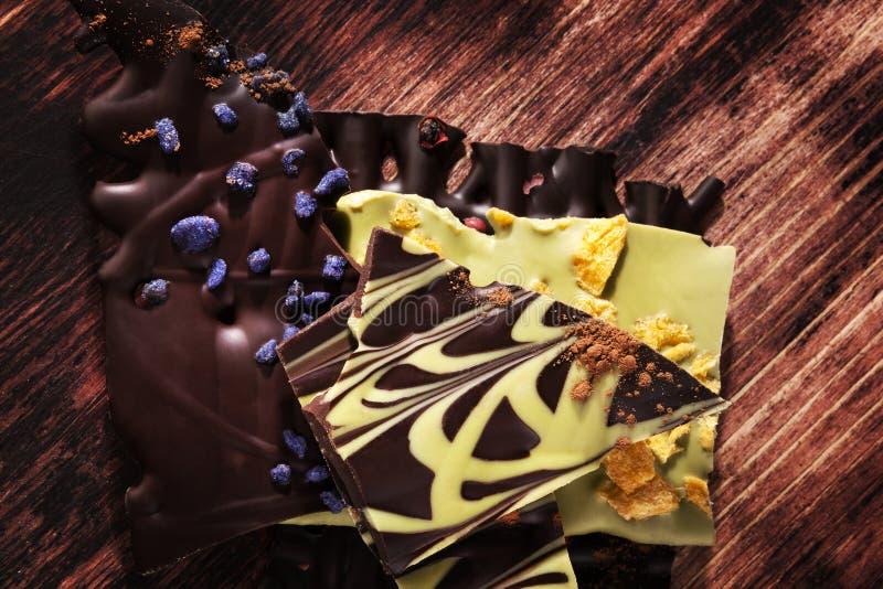 Chocolat gastronome luxueux images stock
