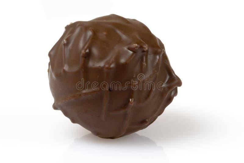 Chocolat noir de Suisse de truffe image stock