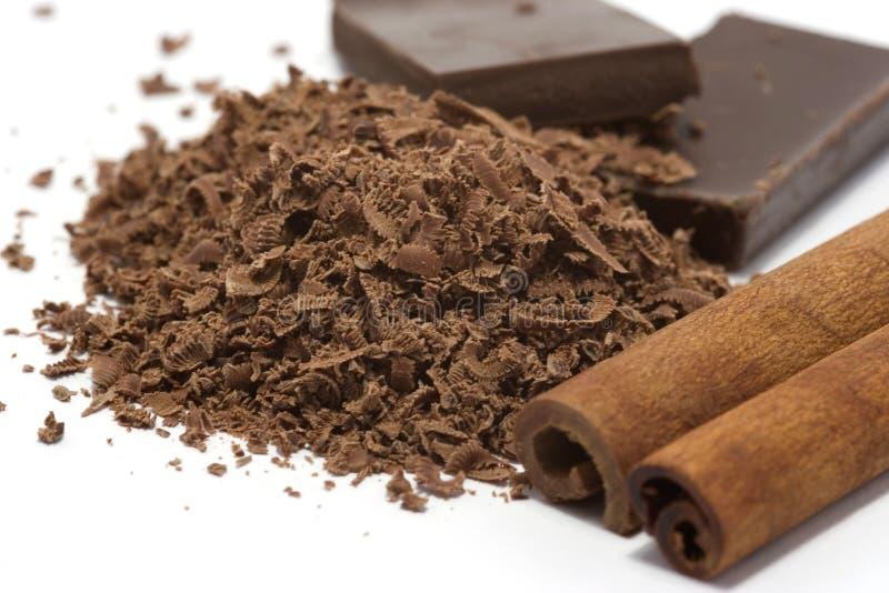 Download Chocolat Râpé Avec Des épices Photo stock - Image du vivacité, dessert: 2128744