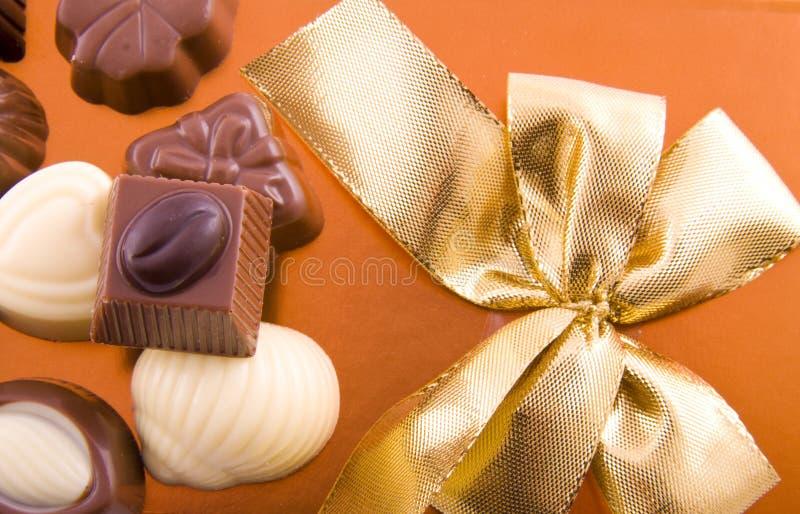 Chocolat savoureux photographie stock