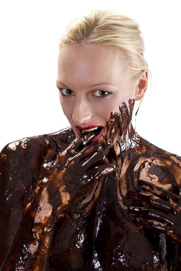 Chocolat sexy images stock