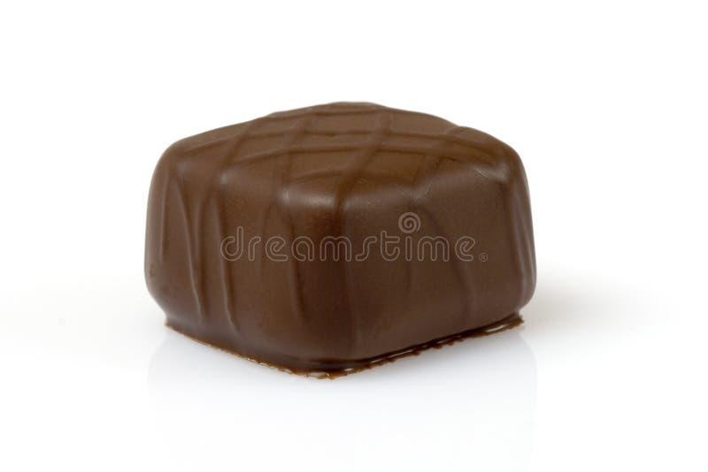 Chocolat suisse formé par grand dos images stock