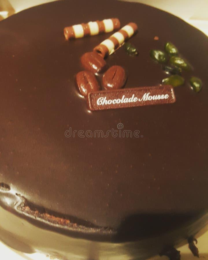 Chocolat tort obrazy stock