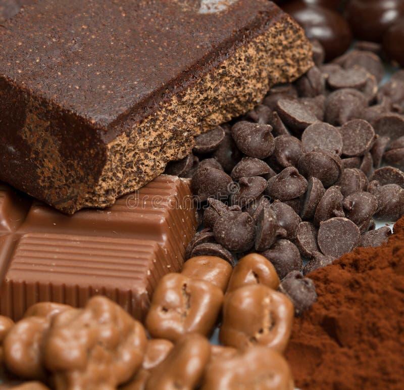 Download Chocolate stock photo. Image of cream, food, nougat, assortment - 24335916