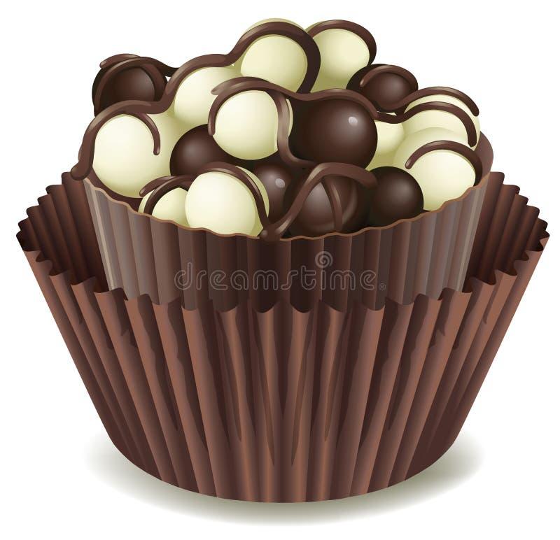 Chocolate ilustración del vector