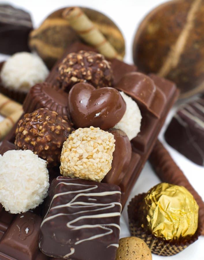 Chocolate imágenes de archivo libres de regalías