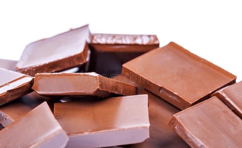 Chocolate, apetito del Bon foto de archivo libre de regalías