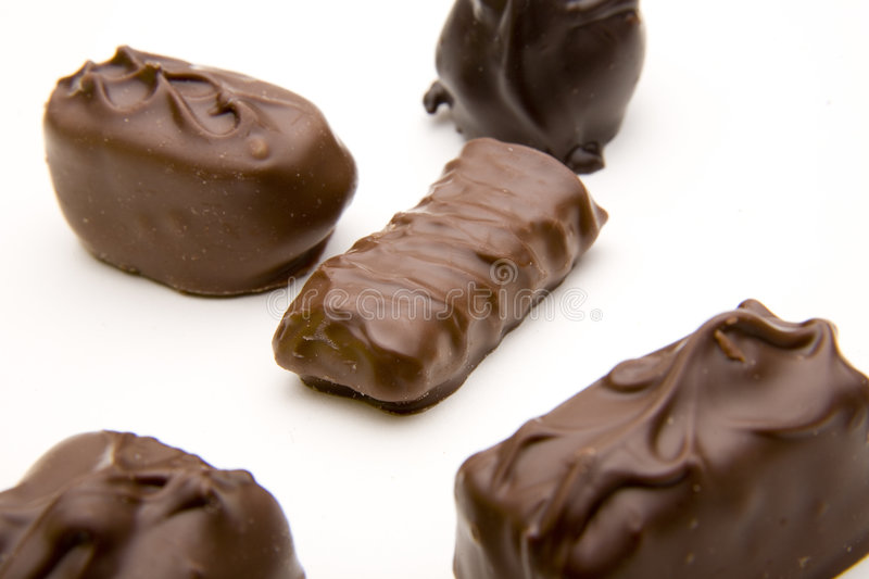 Chocolate Assortment royalty free stock images
