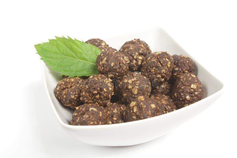 Download Chocolate balls stock photo. Image of black, plate, cake - 29012498