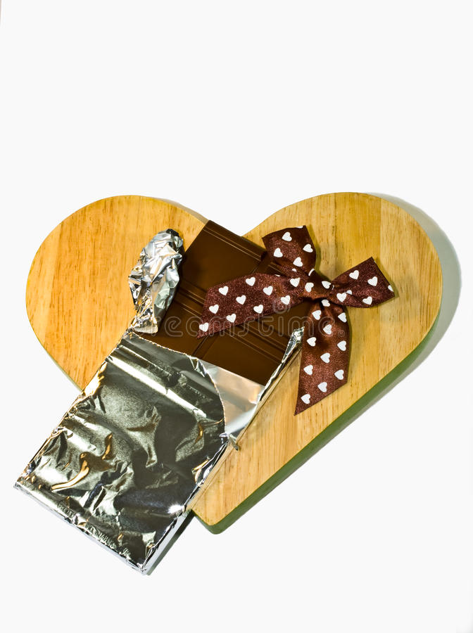Download Chocolate bar stock photo. Image of candy, wooden, diet - 26163428