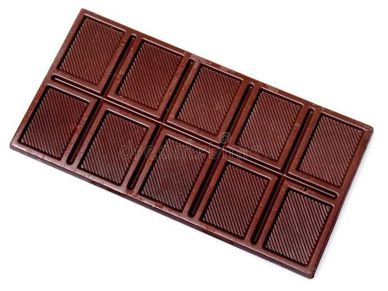 Download Chocolate bar stock image. Image of isolated, closeup - 6407599