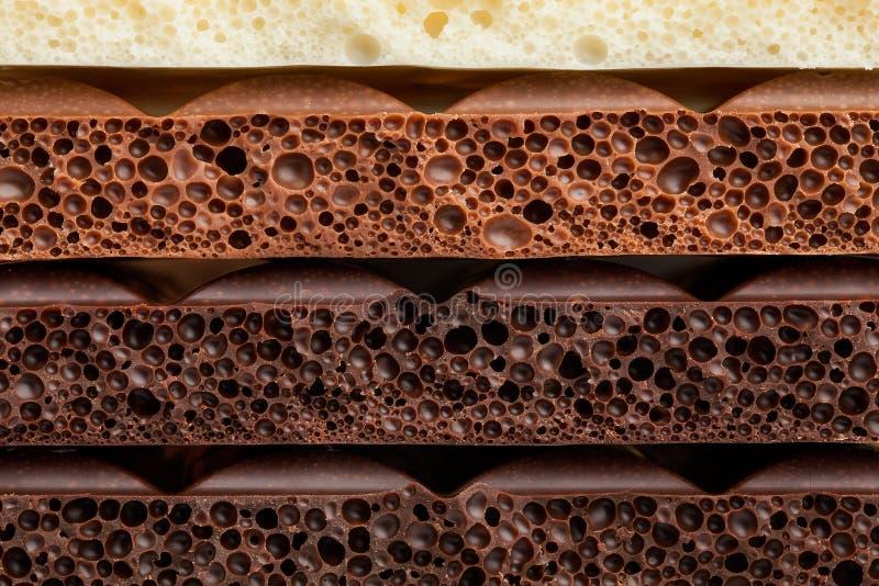 Chocolate. Bar texture tile pattern royalty free stock photos