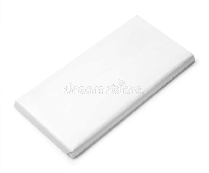 Chocolate Bar White Blank Package Template Stock Image - Image of ...