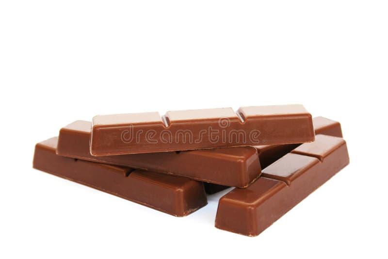 Chocolate bars royalty free stock photography