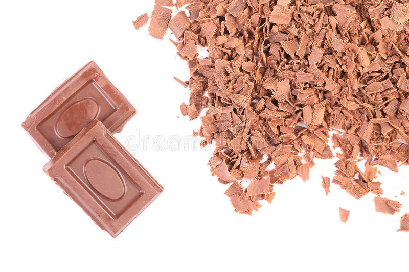 Download Chocolate Bars And Shavings. Stock Photo - Image: 41529755