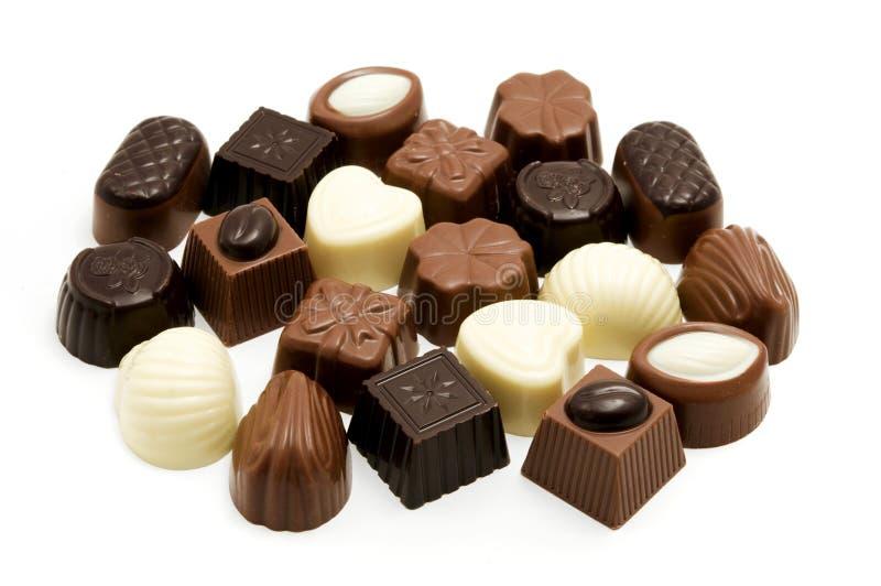 Chocolate belga fotos de stock