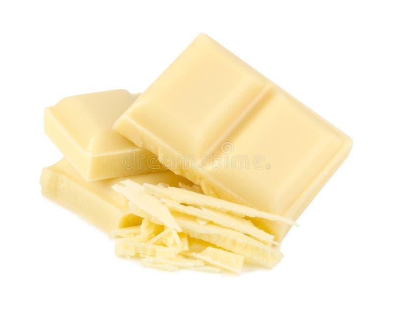 Chocolate blanco foto de archivo