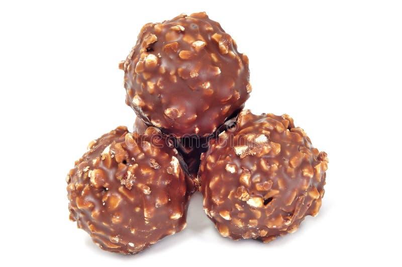 Chocolate bonbons royalty free stock photos