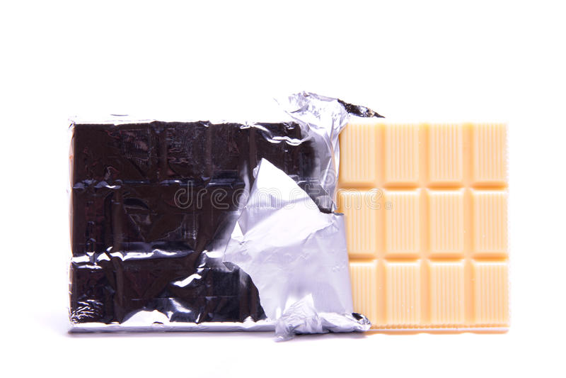 Chocolate branco. imagens de stock royalty free