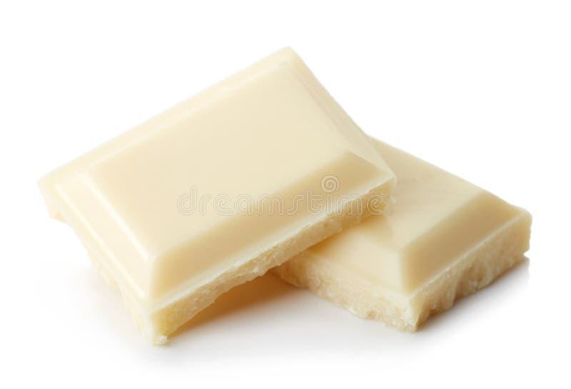 Chocolate branco imagens de stock