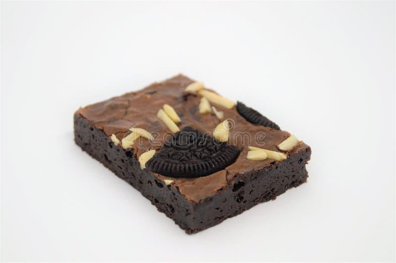 Chocolate Brownie Cake , Homemade , Fresh Meal , Good Meal stock image