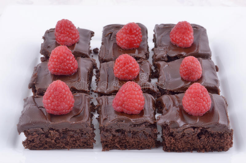 Download Chocolate brownies stock image. Image of cake, square - 26021685