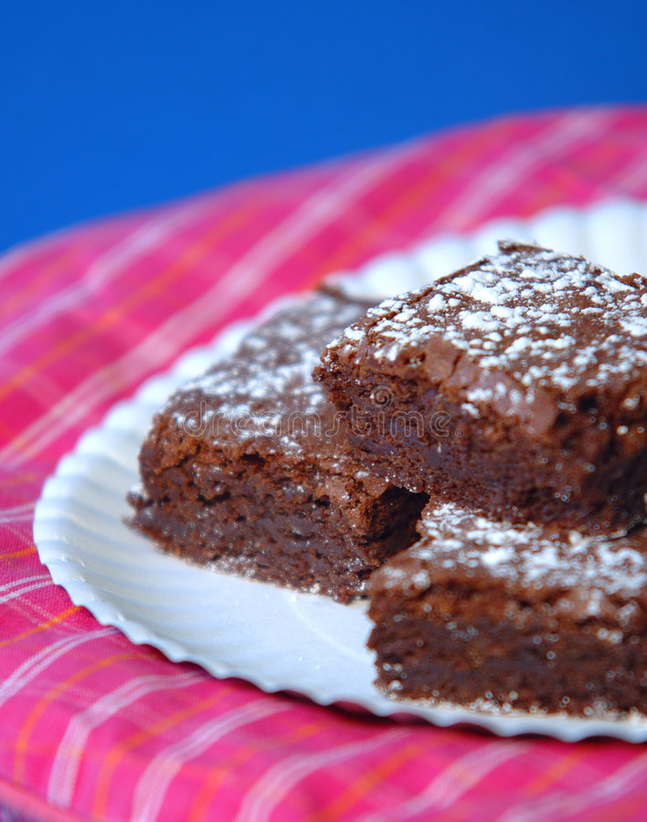 Free Chocolate Brownies Stock Image - 533781