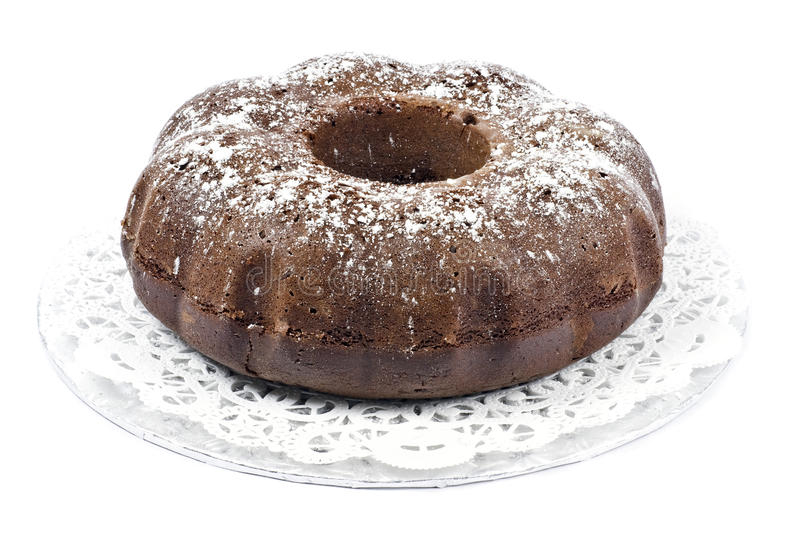Download Chocolate Bundt Cake stock photo. Image of chocolate - 12232738